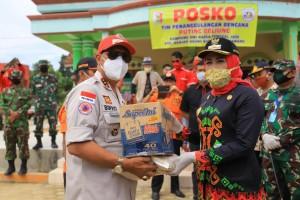 Winarti Sambut Loekman Salurkan Bantuan Bencana Puting Beliung