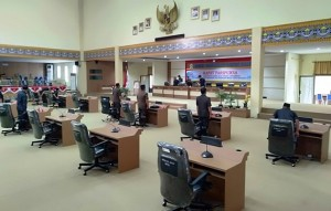 Rapat Paripurna, Hampir Separuh Anggota DPRD Mesuji Mangkir