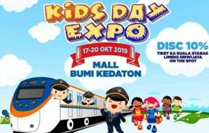 Kids Day Expo, KAI Tanjungkarang Tawarkan Diskon Harga Tiket