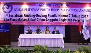 Pemprov Dukung KPPI Raih Kuota 30% Di Parlemen