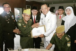 Hari Pahlawan, Pringsewu Beri Tali Asih Kepada Veteran