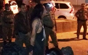 Pol-PP Tertibkan Puluhan Anak 'Punk' Di Metro