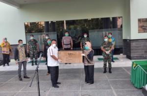 Lampung Terima Bantuan 2.000 APD