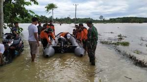 Banjir Di Pesisir Barat, 150 Rumah Terendam Air
