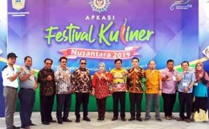 Lamsel Promosi Produk Unggulan Di Festival Kuliner Nusantara 2019