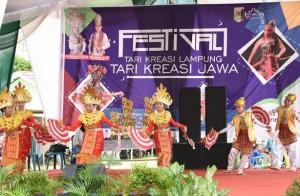 Lamtim Gelar Festival Tari Kreasi