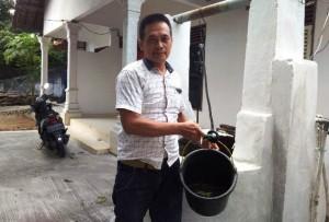 Air Sumur Warga Diduga Tercemar Limbah RS Permata Hati