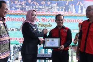 48 Anggota PWI Tulangbawang Ikut HPN Di Surabaya