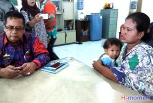 Pemkab Lampura Bantu Pengobatan Bayi Tanpa Anus