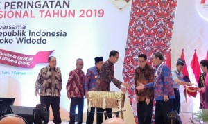 Jokowi Apresiasi Perkembangan Media Massa