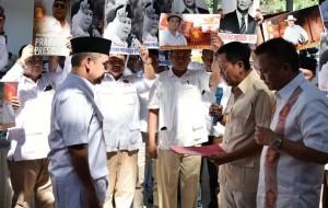 Pilpres 2019, Gerindra Lampung Deklarasikan Prabowo Subianto