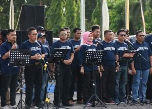 Nunik Buka Lamtim Music Mob