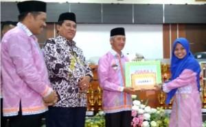 Pringsewu Beri Bonus Rp25 Juta Peraih Juara I MTQ Lampung