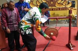 Walikota Metro Buka Pemilihan Muli Mekhanai 2018
