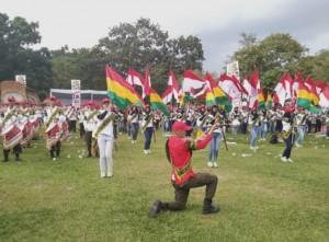 Marching Band SGC Meriahkan Deklarasi Pujo Lamteng