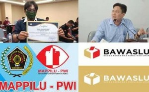 Awasi Pilkada, Mappilu-PWI Lampung Kolaborasi Dengan Bawaslu