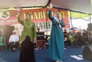 Pilgub Lampung, Nunik Ajak Warga Pesawaran Coblos Nomor Tiga