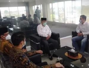 ABDY Sowan Ke Tokoh Senior Golkar Metro