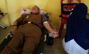 Lomba UKS Dibarengi Aksi  Donor Darah