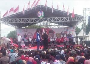 Kampanyekan Jokowi, Arinal Ingin Wujudkan Kemandirian Pangan Di Pesibar