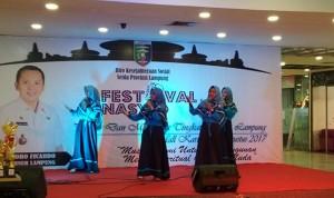 Pemprov Gelar Festival Nasyid Pelajar Dan Mahasiswa