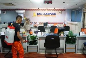 Jaga Kenyamanan Nasabah, Bank Lampung Putus Rantai Penularan Covid-19