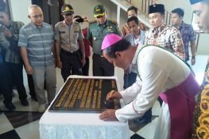 Pemkab Lambar Komitmen Terhadap Pembangunan Tempat Ibadah