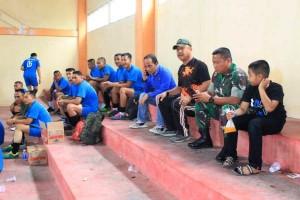 Futsal HUT Tulangbawang, Tim Lanud Bunyamin Kalahkan Tim Kodim 5-1