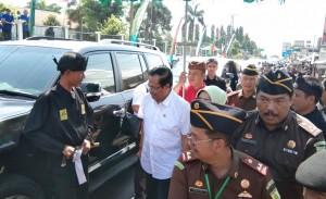 Jaksa Agung Tinjau Operasi Katarak Di Tanggamus