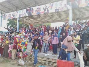 Deklarasi Pujo Tuba, Relawan Mulai Padati Lapangan Tunggulwarga
