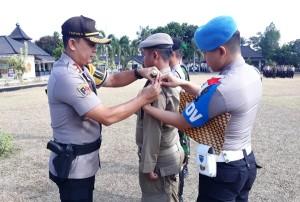 1.542 Personel Gabungan Amankan Pilkades Serentak Di Lampung Timur