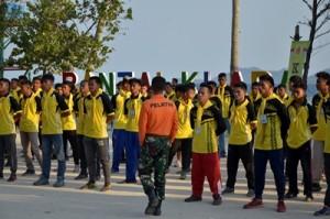 Bentuk Karakter Jelang Porwil, TNI Gembleng Atlet Lampung