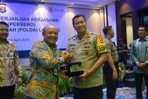 Jaga Aset, PLN Kerja Sama Dengan Polda Lampung