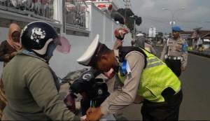 Patuh Krakatau 2019, Ditlantas Catat 22.840 Pelanggaran Lalu Lintas Di Lampung