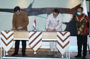 PGN Dan Krakatau Steel Teken Perjanjian Jual Beli Gas