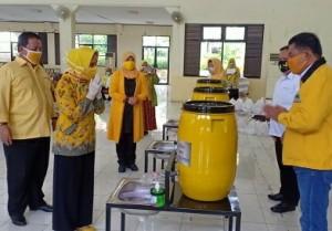 IIPG Sumbangkan APD Ke 15 Kabupaten/Kota