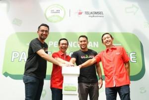 Gojek-Telkomsel Luncurkan Paket Komunikasi