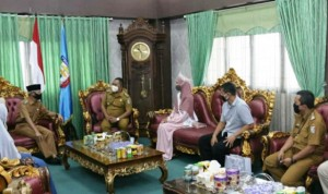 Putri Hijab Lampung 2020 Silaturahmi Ke Bupati Pringsewu