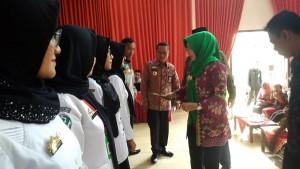 579 Tenaga Kontrak Kesehatan Di Tanggamus Terima SK