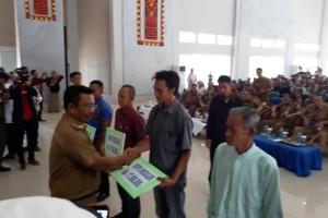 DPKP Lampura Salurkan Bantuan Stimulan Perumahan