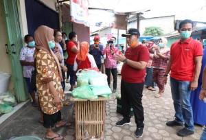 Nanang Pimpin Penyemprotan Disinfektan Di Tiga Kecamatan