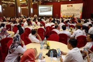 KPK Gandeng Bank Lampung Sosialisasi Pencegahan Gratifikasi