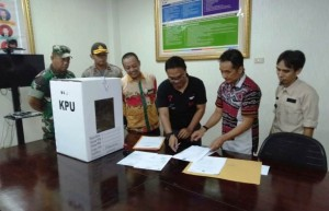 Jokowi-Ma'ruf Menang Di Pringsewu