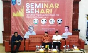 Fisip Unila Gelar Seminar Sehari Songsong Pilgub