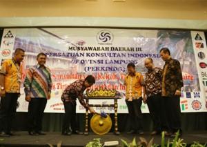 Ridho Minta Perkindo Berpartisipasi Membangun Lampung