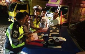 Polres Tulangbawang Tingkatkan Pengawasan Di Jalintim