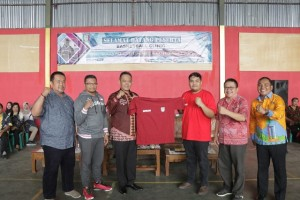 Basketball Clinic Pringsewu Diikuti 71 Pelajar SMP Dan SMA