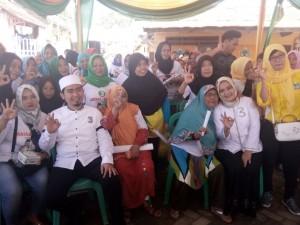 Kenalkan Sembilan Program Utama, Riana Sari Ajak Warga Pilih Arinal - Nunik