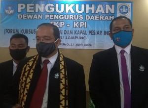DPD FKP-KPI Lampung Dikukuhkan, Lapangan Kerja Diyakini Semakin Terbuka