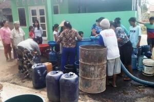 PTPN VII Unit Bekri Beri Bantuan Air Bersih